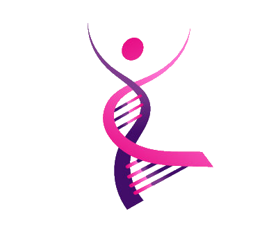 Our Dancing DNA logo, representing our mission and goals for women in life science.